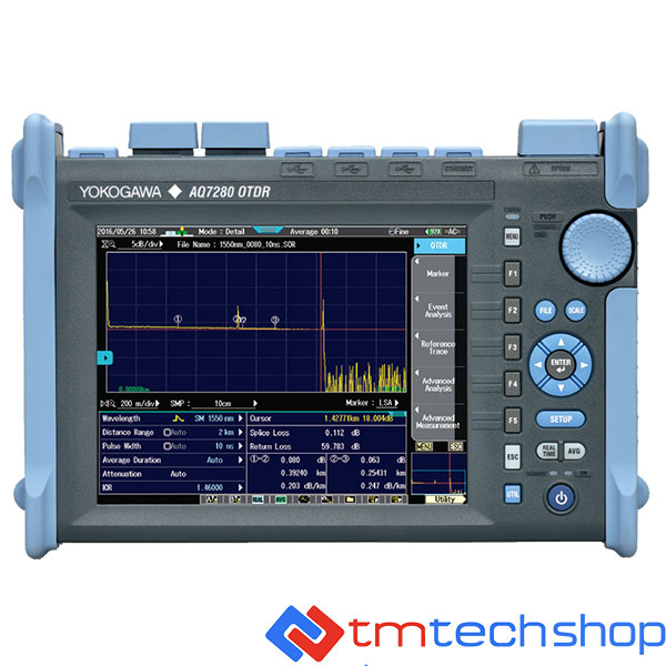 May Do Cap Quang Otdr Yokogawa Aq7280 Tmtechshop