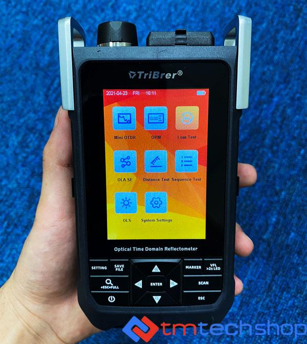 Tribrer Tb700 May Do Cap Quang Otdr Mini